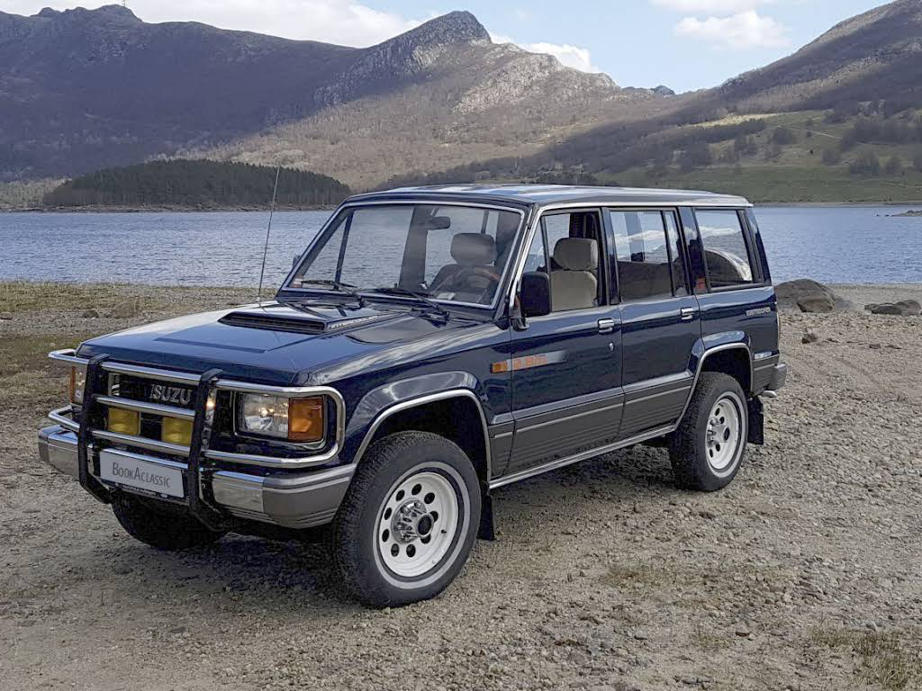 Isuzu Trooper Hire Figgjo