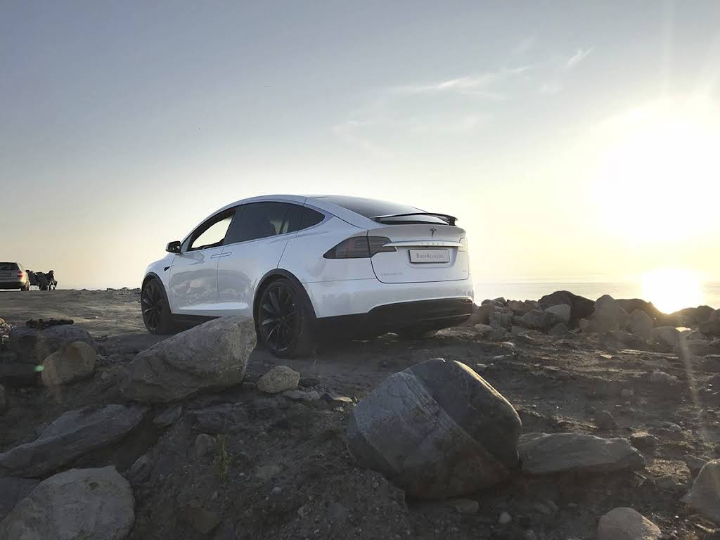 Tesla Model X Hire Sandnes